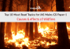 Top 10 Must Read Topics for IAS Mains GS Paper 1 | Causes & effects of Wildfires