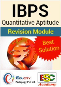 IBPS Quantitative Aptitude Revision Module (Best