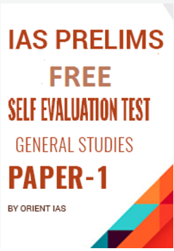 IAS Prelims Free Self Evaluation Test - General Studies
