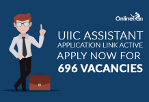 UIIC Assistant Application Link Active: Apply Now for 696 Vacancies
