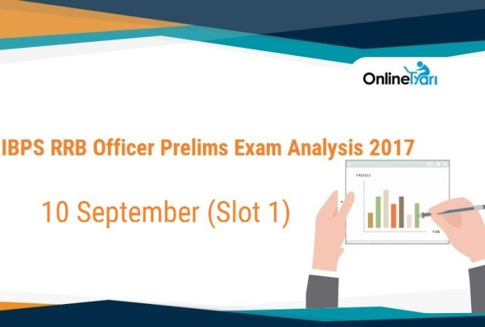 IBPS RRB Officer Prelims Exam Analysis, 10th September Slot 1