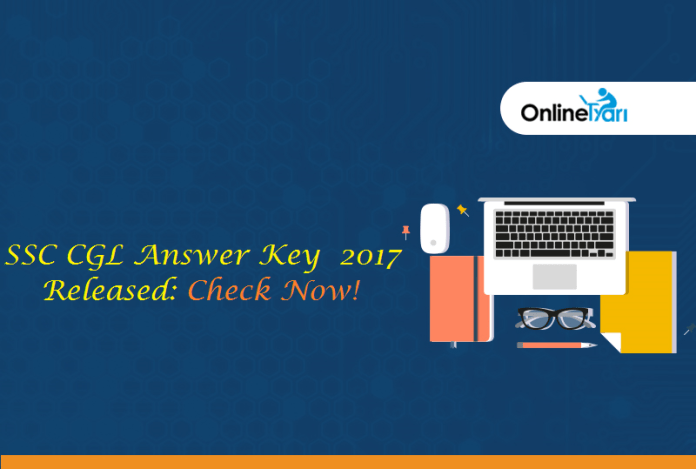 SSC CGL Answer Key 2017 Released: Check Now!