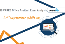 IBPS RRB Assistant Exam Analysis | 24th September Shift 3