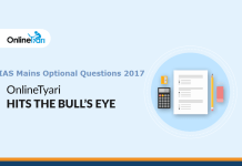 IAS Mains Optional Subject Questions 2017: OnlineTyari hits the Bull's Eye
