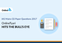 IAS Mains GS Paper Questions 2017: OnlineTyari hits the Bull's Eye