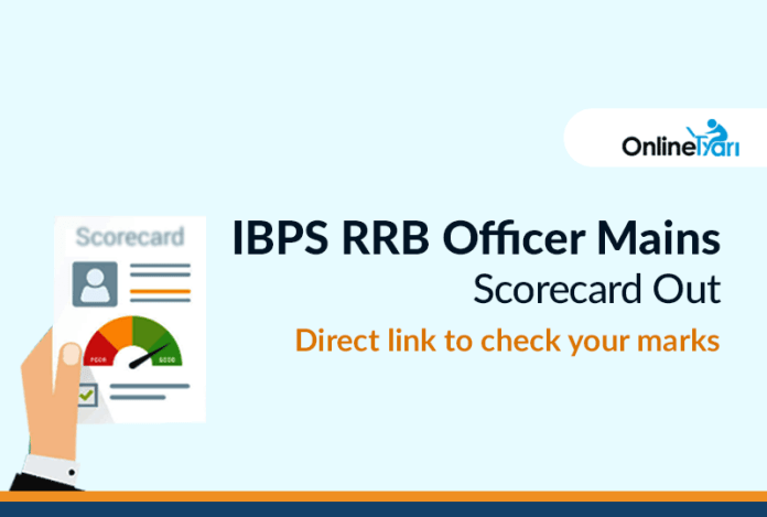 IBPS RRB Officer Mains Score card Out: Direct link to check your marks