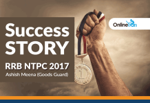 RRB NTPC 2017 Success Story: Ashish Meena (Goods Guard)