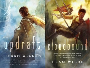 FRan's new updraft and cloudbound covers