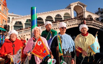 The 2013 Befana Regatta in Venice