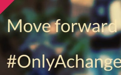 …and all it takes is #OnlyAchange