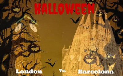 Halloween Plans: London vs. Barcelona
