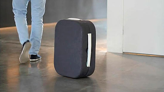 Hop! the Suitcase That Follows You