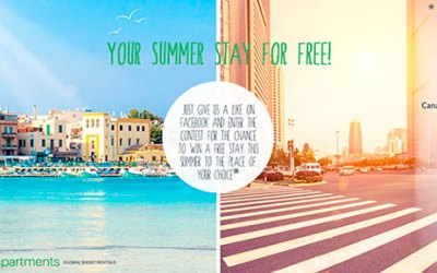 Your summer stay for free!