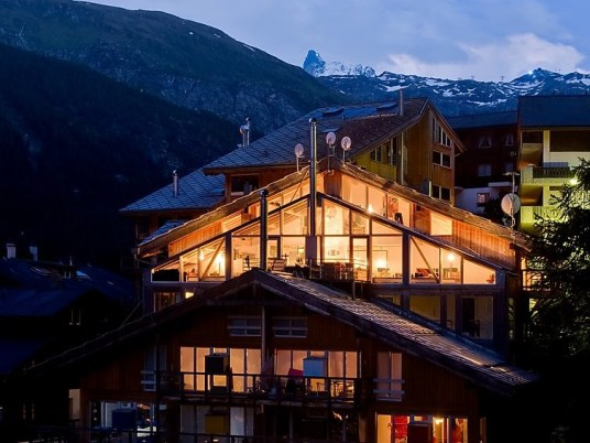 Heinz Julen Haus in Valais
