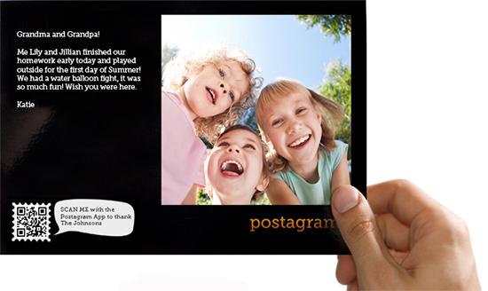 Die App des Monats: Postagram