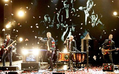 Coldplay Konzert in Prag