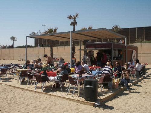 Die Strandbars