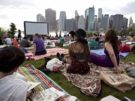 new york open air cinema cine aire libre