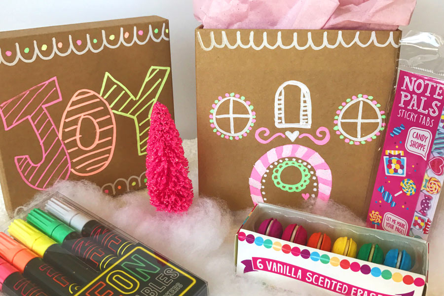 Diy Gingerbread House Christmas Gift Bags Boxes Ooly