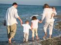 Family on thebeach