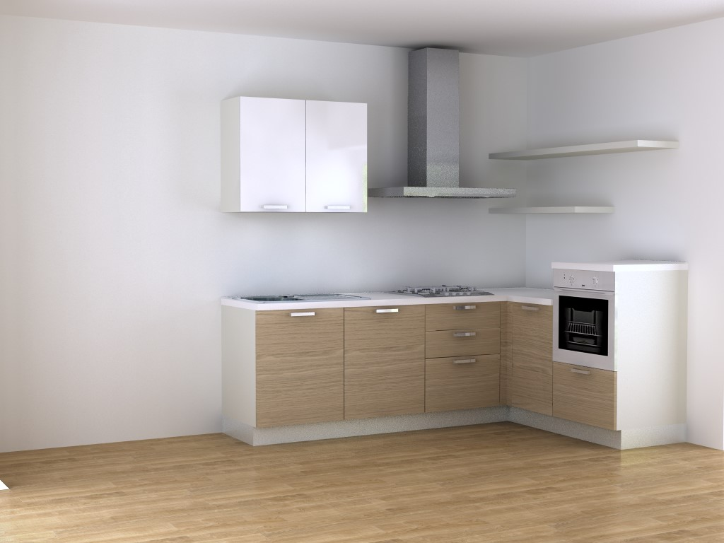 Cucina Angolare 360 Cucine Componibili Online - Blog Outlet Arreda
