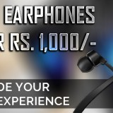 Top 5 Earphones Under Rs.1000/-