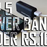Top 5 Powerbanks under Rs.1000/- (April 2016)
