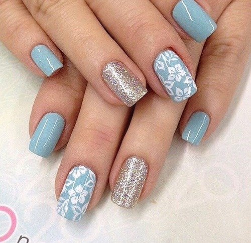 floral nails design - Intoanysearch