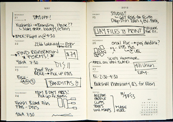 Before You Buy A Dayplanner/Diary 5 Factors To Consider Endpaper - day planner