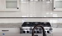 Stacked Tile Backsplash | Tile Design Ideas