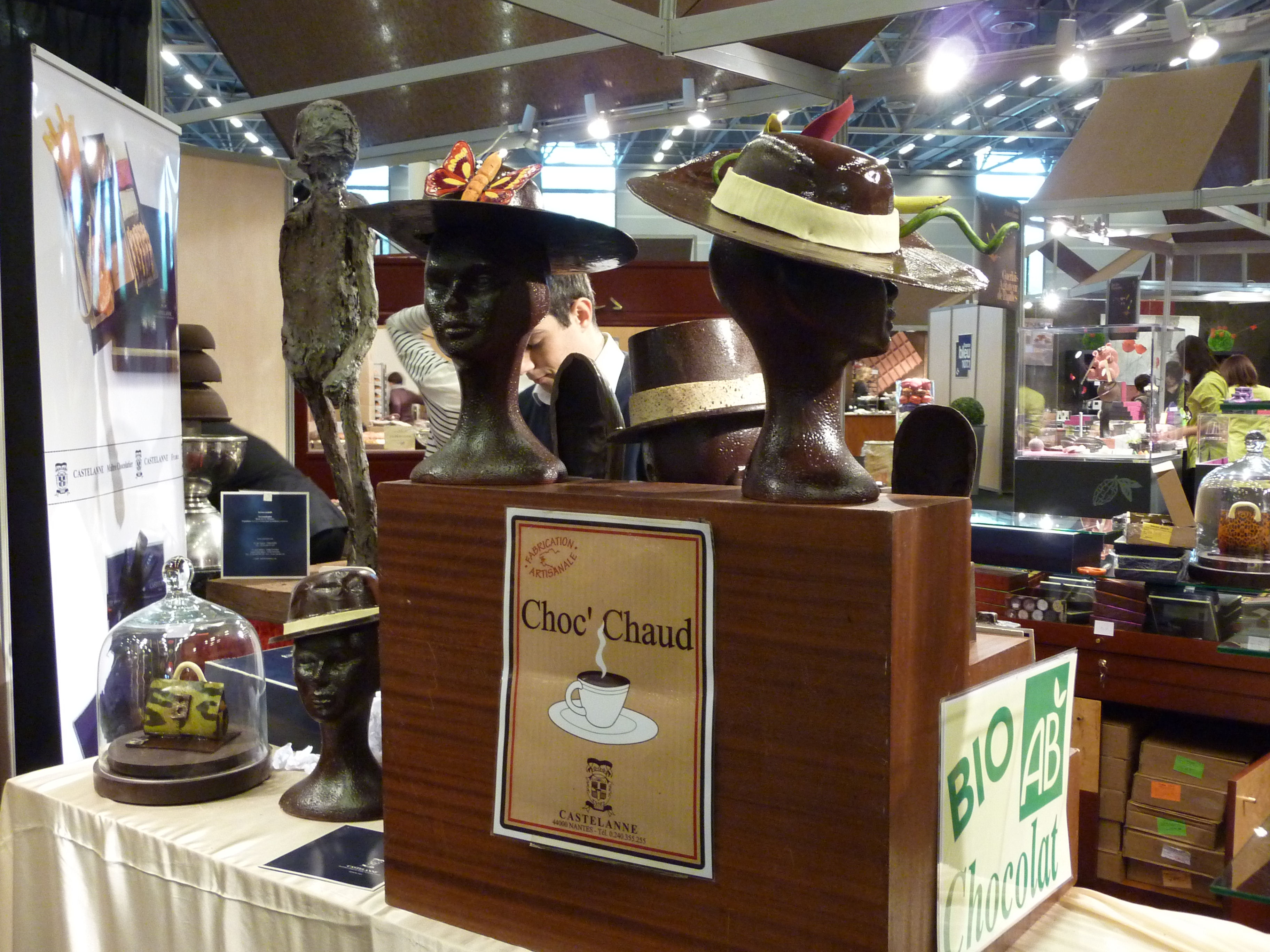 Salon Du Chocolat Nantes Chocolate Hats Paris Insights The Blog Paris Insights The Blog