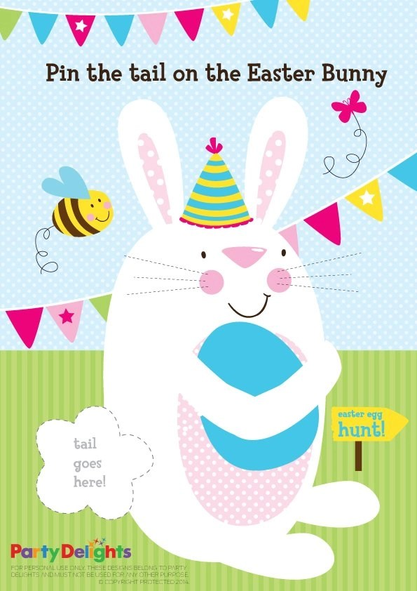 4 Fun Easter Games for Kids Party Delights Blog