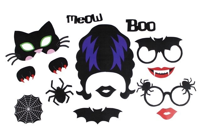 Printable Halloween Photo Props Party Delights Blog