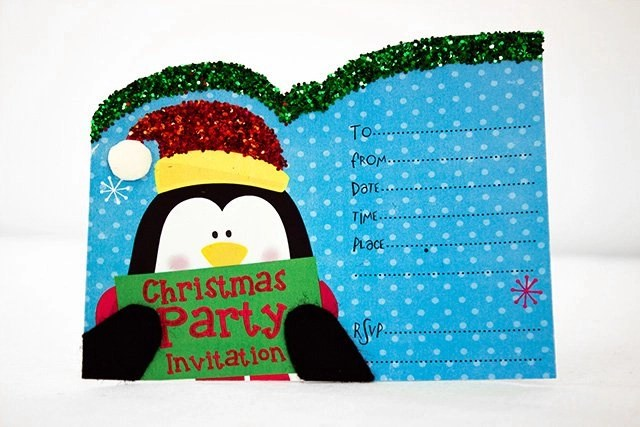 Free Printable Christmas Invitation Templates Party Delights Blog
