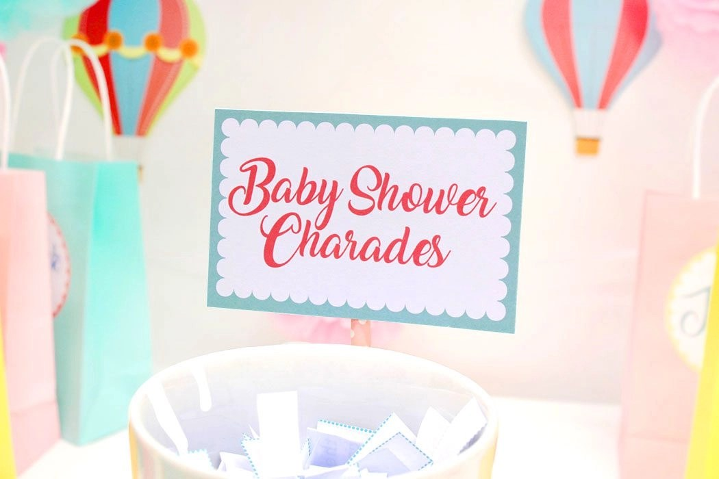Free Printable Baby Shower Charades Game Party Delights Blog