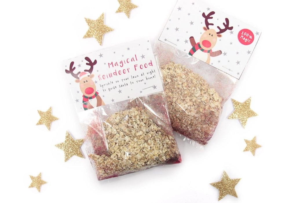 Magic Reindeer Food Recipe + Free Printable Labels Party Delights Blog