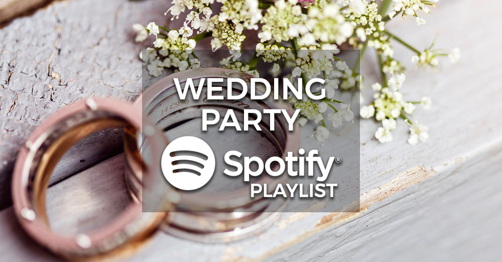 Wedding Party Music - Spotify Playlist Partyrama Blog