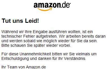 Amazon down