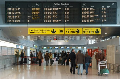 Aeroporto de Lisboa - Partidas
