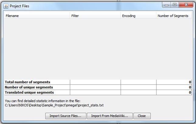 Εικ. 4 Project files