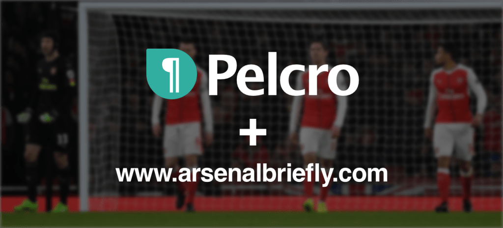 Pelcro and Arsenal Briefly Partner
