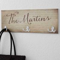 Add Function & Style With Personalized Coat Racks