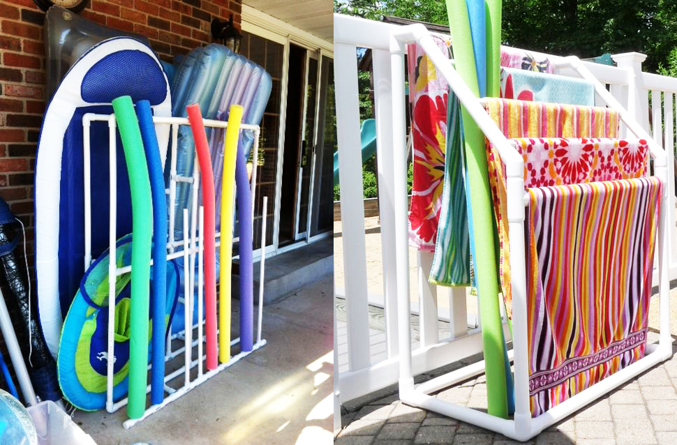 8 Ways To Use Pvc Pipes For Storage This Summer Personal