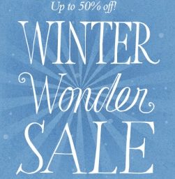 Winter Sale at petit bazaar on now!