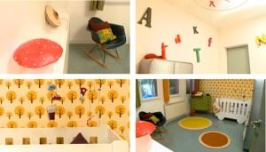 vintage style kid's room