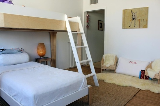 bunk bed ideas for small rooms in hong kong - oeuf perch bed