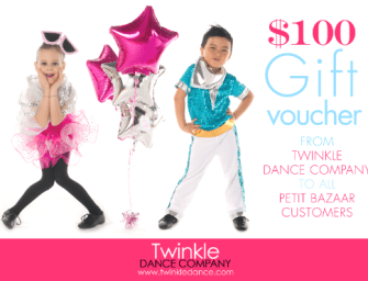 petit bazaar introduces Twinkle Dance Company – ballet and dance classes for kids