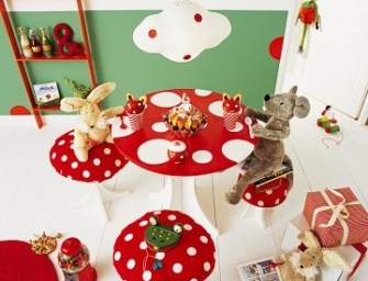 Get inspired by Polka Dots: Ideas for children's toys, kids kitchens, storage and living