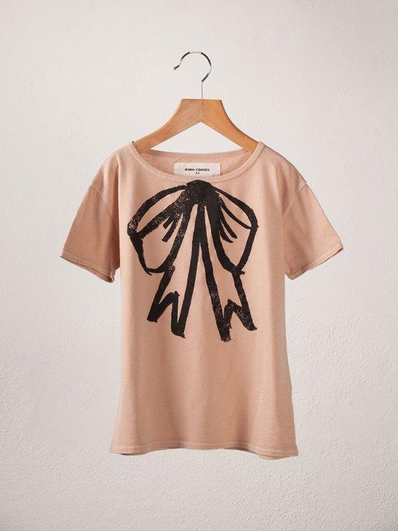 BOBO Short Sleeve T-Shirt Bow