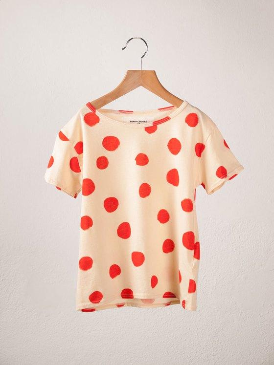 BOBO Short Sleeve T-Shirt Dots